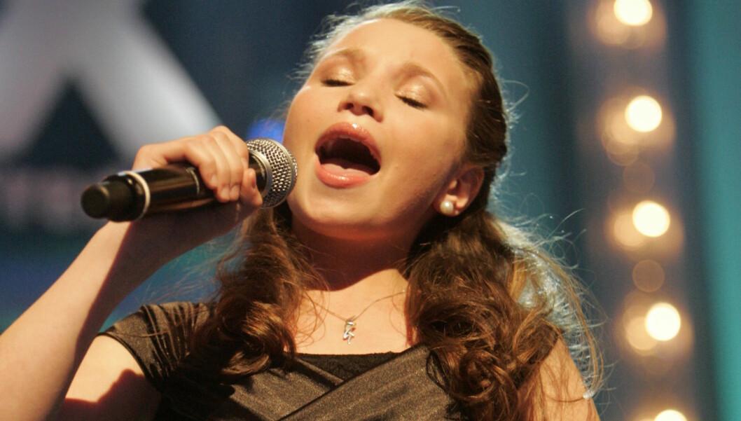 UNG: Nora Foss Al-Jabri er bare 15 år gammel, men har allerede rukket å synge for Oprah Winfrey, samt å komme på tredjeplass i Norske Talenter. Foto: Stella Pictures