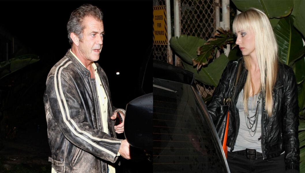 NY FLAMME: Mel Gibson har vært på hemmelig stevnemøte med en ny blondine i Los Angeles.  Foto: All Over Press