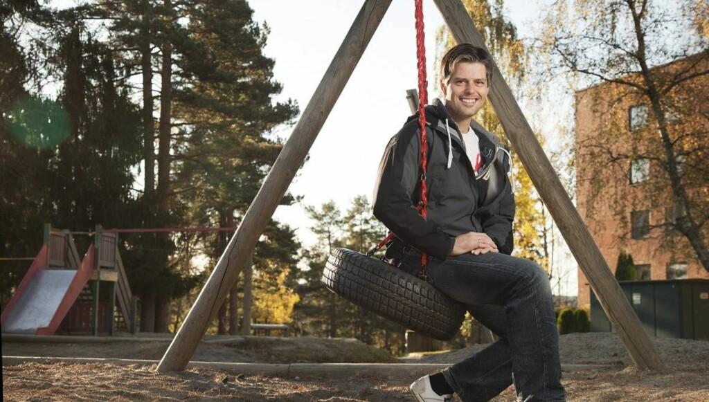 LÆREMESTER: «Blanke Ark» er blitt et suksessprogram på TV Norge. Håvard er glad han kan hjelpe ungdommer å få tilbake gleden ved å lære. – Alle mennesker ønsker å gjøre det bra, men ikke alle vet hvordan, sier han.  Foto: Henning Jensen/Se og Hør
