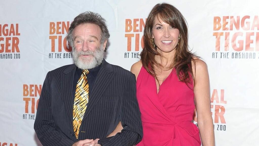 ALLE GODE TING ER TRE: Ekteskapet er Robin Williams' tredje. Foto: All Over Press