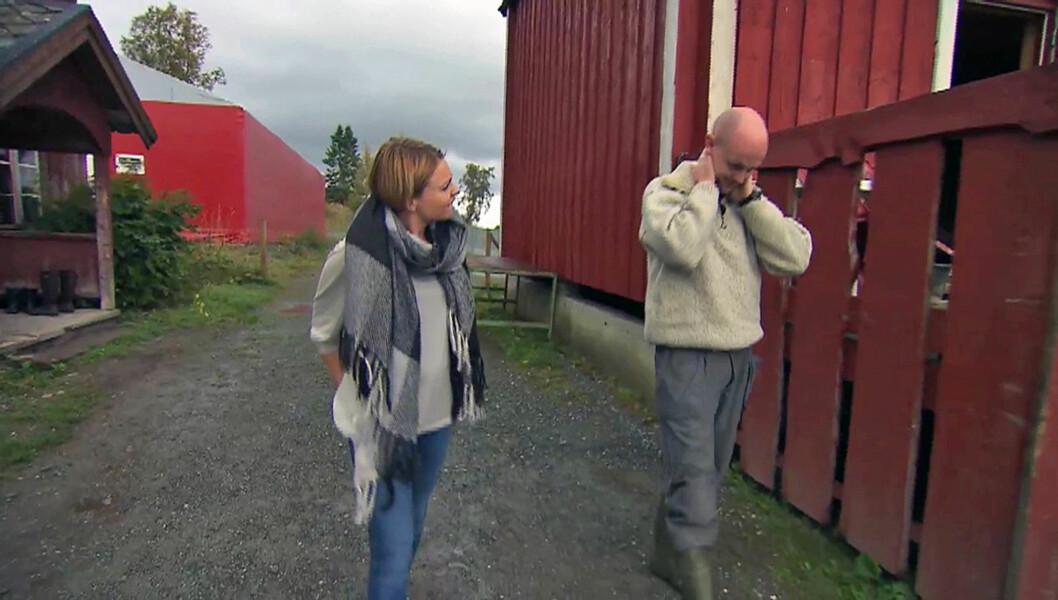 SENDT HJEM: - Bente var veldig flink til ikke å favorisere noen og det skal hun ha stor «kred» for. Det hadde jo vært fint om hun også kunne gitt uttrykk for sine følelser, men jeg skjønner jo at hun ikke gjorde det, sier Mats Erik Asphaug, som her Foto: TV 2