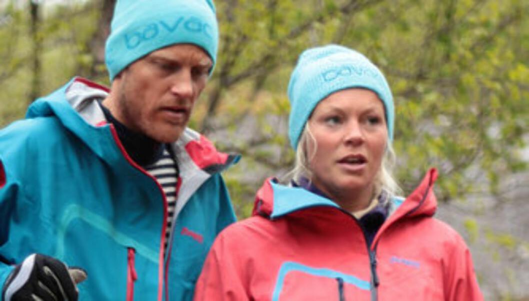 EKTEPAR: Martin og Hilde Winther er historiens første ektepar som har blitt tatt ut i «71 grader nord». Foto: TVNorge