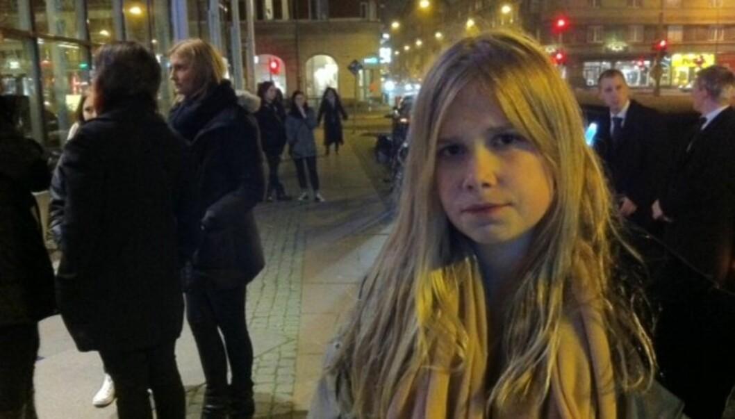 SKUFFA: For 12 år gamle Vilde er det skuffende at hun ikke får opplevd yndlingsartisten sin holde konsert. - Jeg trodde ikke det var sant da jeg hørte folk snakke om at konserten var avlyst, sier hun til Seher.no. Foto: Privat