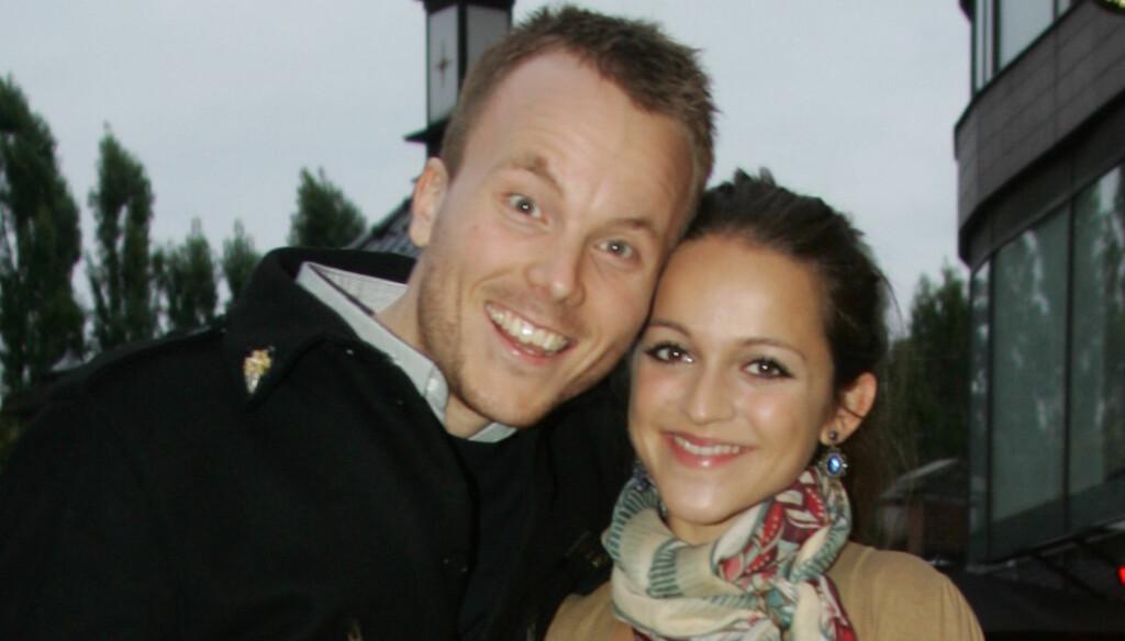 GIFTER SEG: Siri Nilsen fridde for et år siden til komiker-kjæresten Anders Bye. Når bryllupet skal finne sted er enda ikke bestemt. Foto: STELLA PICTURES