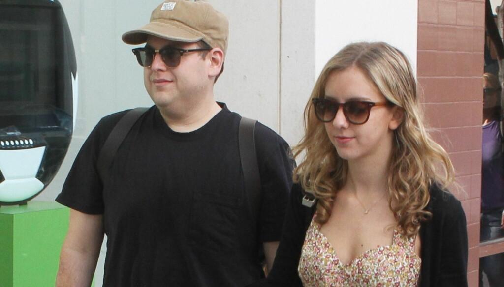 SINGEL: Jonah Hill slo nylig opp med kjæresten Jordan Klein.  Foto: All Over Press