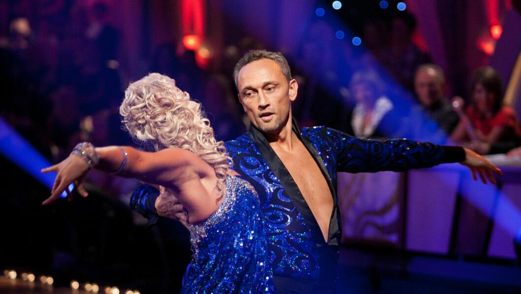 DANSE-SUKSESS: Lars Bohinen gjør for tiden stor suksess i TV 2s «Skal vi danse». Her er han i aksjon sammen med dansepartner Alexandra Kakurina. Foto: Stella Pictures