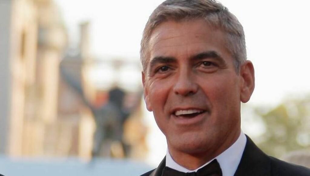 LATTER: Clooney brukte navnet til kollegaen da han sjekket seg inn på hoteller før i tiden. Foto: All Over Press