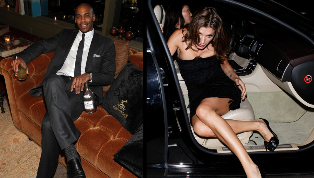 NYTT PAR?: True Blood-skuespiller Mehcad Brooks og Elisabetta Canalis. Foto: All Over Press