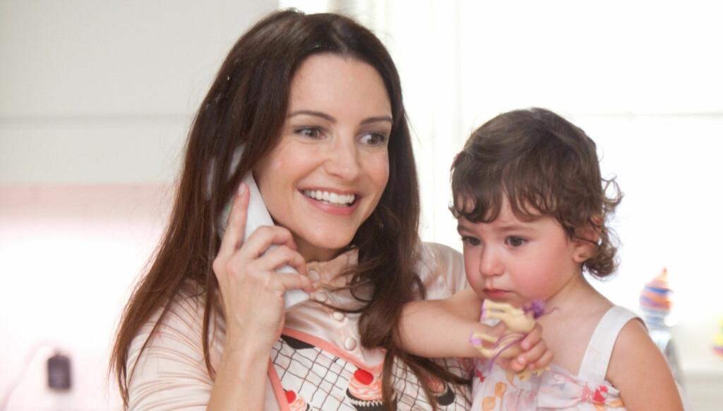 BABY ROSE: Kristin Davis har kalt om adoptivdatteren Gemma Rose etter lille baby Rose (bildet) som hun blir mamma til i filmen «Sex And The City». Foto: Stella Pictures