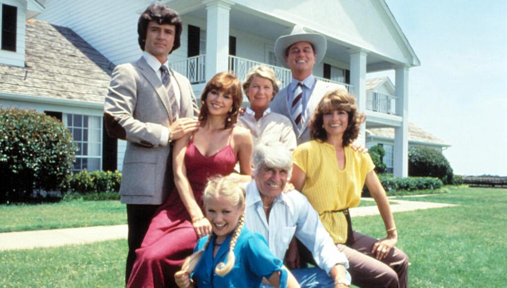 TILBAKE PÅ SKJERMEN: Larry Hagman spilte J.R Ewing i TV-serien «Dallas». Han lar seg ikke stoppe av kreften og begynner snart å spille inn en ny utgave av serien.  Foto: All Over Press