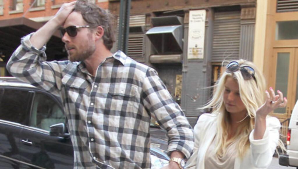BLIR FORELDRE?: Paret krever 3 millioner for å bekrefte om de er gravide eller ei. Foto: Stella  Pictures