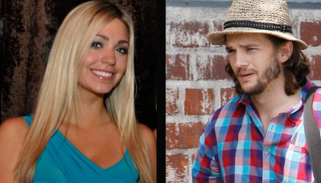 - GIKK TIL SENGS: : 22 år gamle Sara Leal hevder filmstjernen Ashton Kutcher sa han var separert fra kona Demi Moore, før de to gikk til sengs i september. Foto: All Over