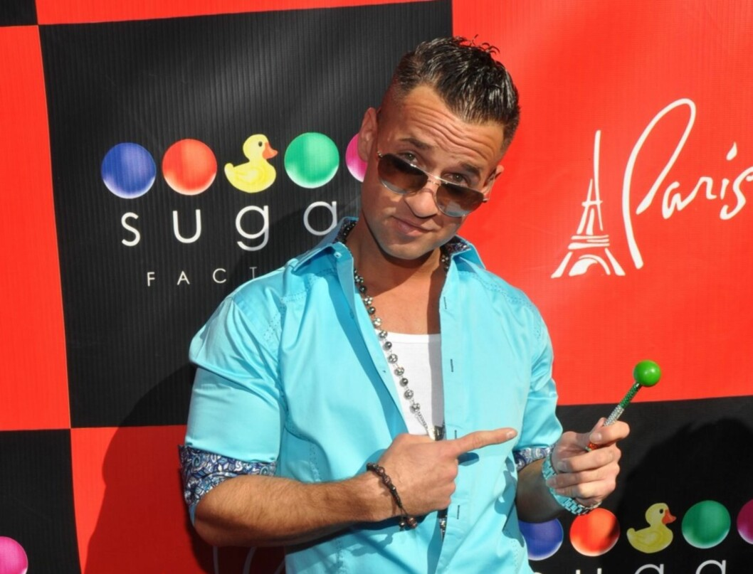 Accompanied by his family, Mike walked the red carpet then pleased many adoring fans with pics and autographs.   <P>  Pictured: Mike The Situation Sorrentino  <P>  <B>Ref: SPL325846  151011  </B><BR/>  Picture by: Splash News<BR/>  </P><P>  <B>Splash News Foto: All Over Press