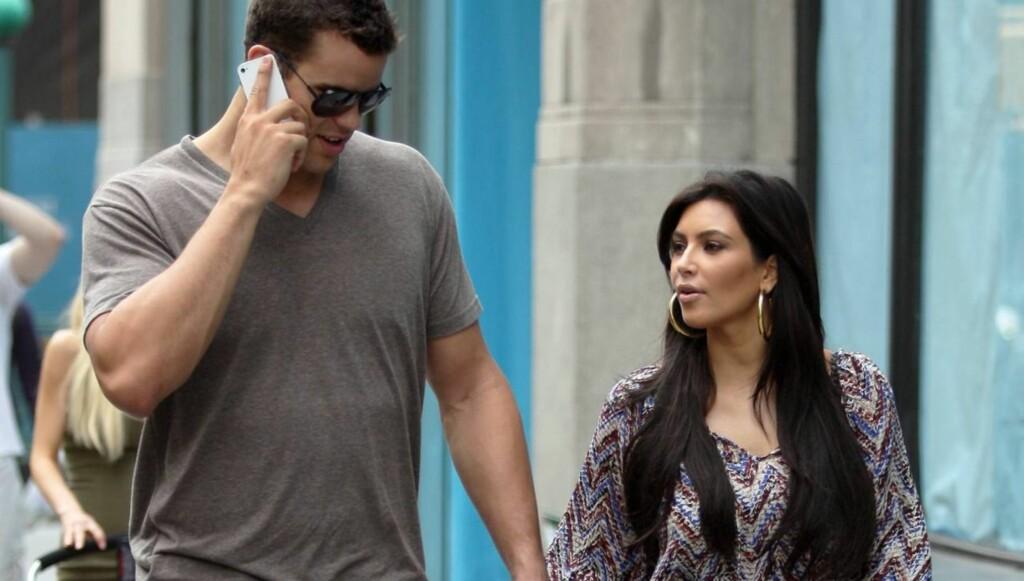 ØNSKER SEG BARN: Kardashian fortalte tidligere at hun gjerne vil bli gravid før året er omme. Foto: All Over Press