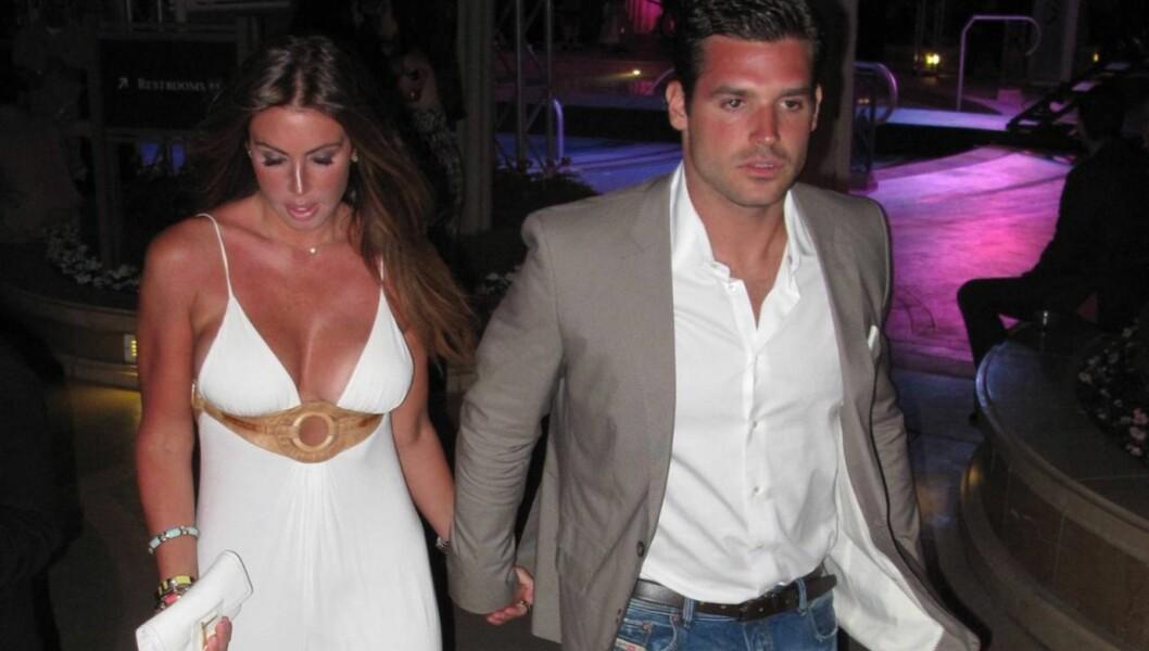 GIFTET SEG: Rachel Uchitel og Matt Hahn giftet seg impulsivt i Las Vegas. Foto: All Over Press