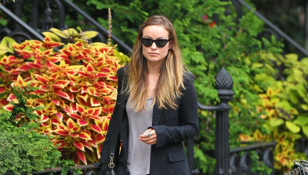 NY SIVILSTATUS: Olivia Wilde er nå offisielt skilt. Foto: All Over Press