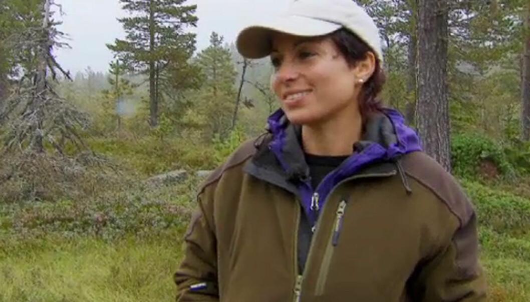 ENKELT VALG: Linda Bjørnes sier til Seher.no at det var enklere enn det så ut som å velge hvem hun skulle vrake i mandagens «Jakten på kjærligheten» Foto: TV 2