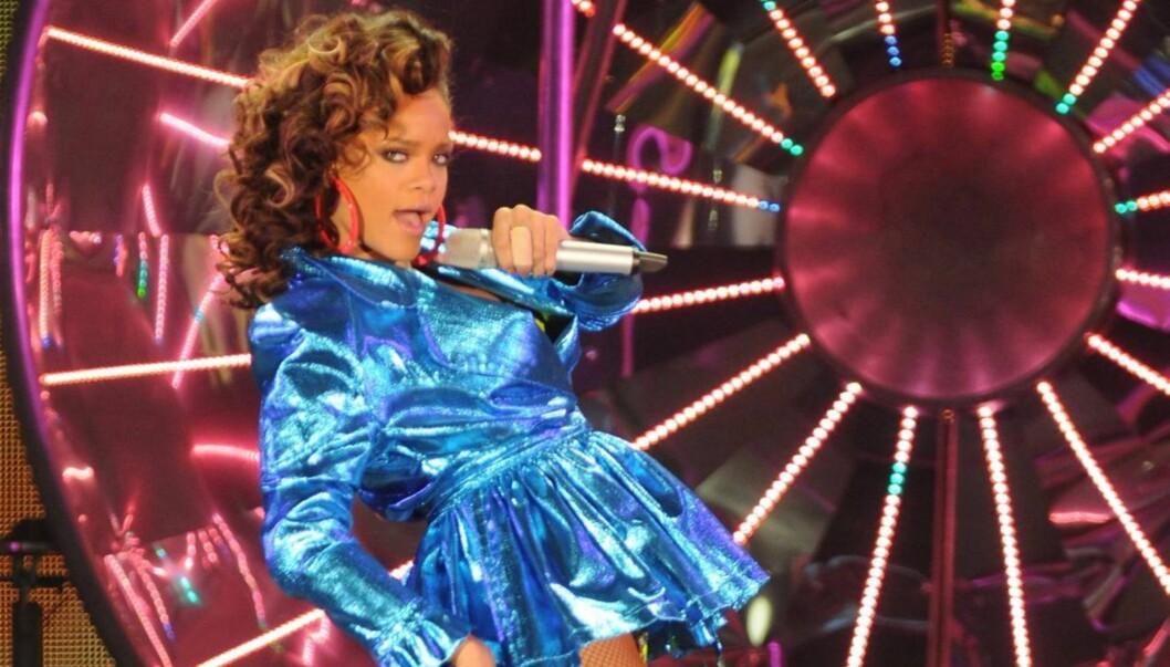 TILGIR EKS-KJÆRESTEN: Rihanna sier i intervjuet med Esquire at hun ikke lenger er sint på eks-kjæresten Chris Brown, som angrep henne i 2009. Foto: All Over Press