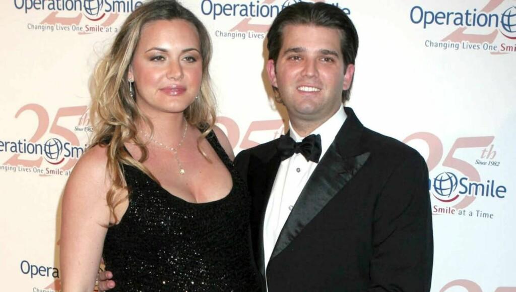 FORELDRE: Donald Trump Jr. og kona Vanessa ble nylig foreldre for tredje gang. Foto: All Over Press