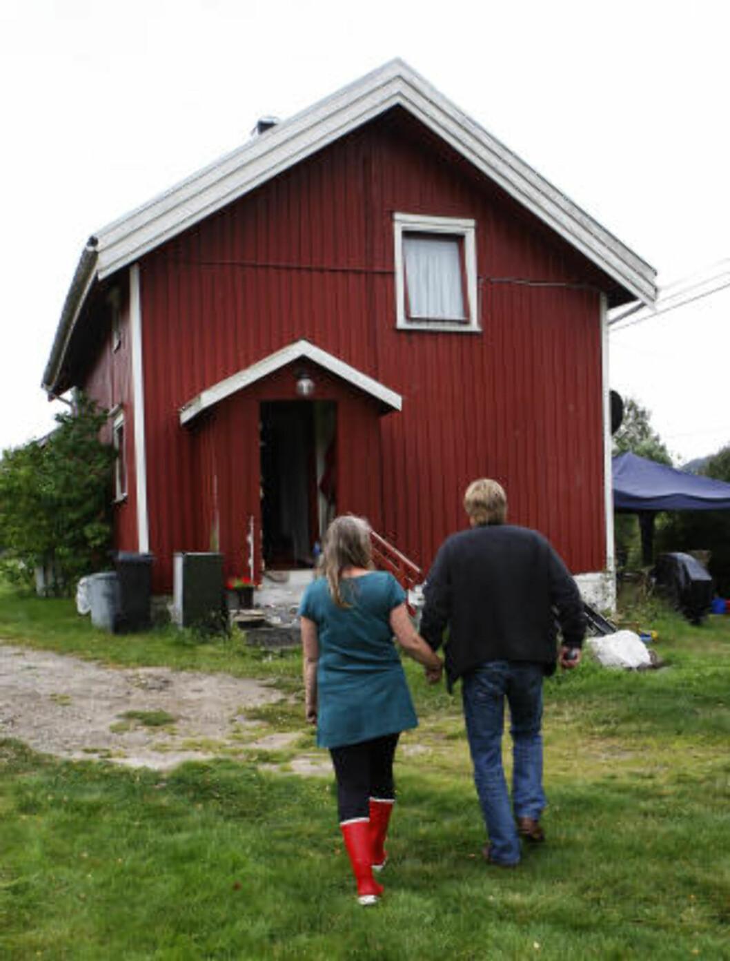 <strong>OVERFALT:</strong> Barnefaren ble overfalt i sitt eget hjem av svogeren og seks andre, så ble hans to tenåringsdøtre bortført. Foto: ERLING HÆGELAND/Dagbladet