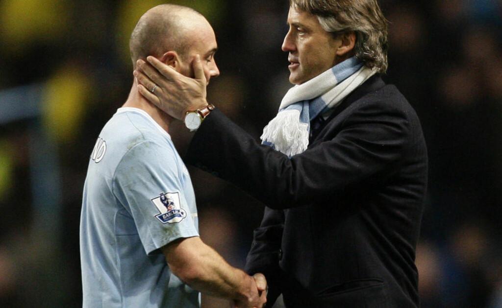 OPPGITT: Stephen Ireland hadde vært i Manchester City siden han var 15, men etter at Roberto Mancini overtok for Mark Hughes, følte Stephen Ireland seg uønsket i klubben.Foto: SCANPIX/AP Photo/Jon Super