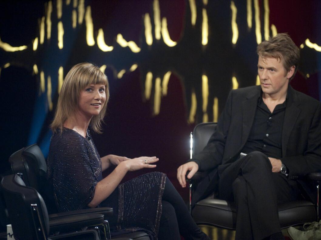 <strong>PÅ SKAVLAN:</strong> Prinsessen snakker om sine erfaringer med engler på NRK-programmet Skavlan».  Foto: Scanpix
