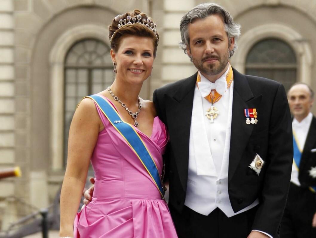 <strong>40 ÅR:</strong> Torsdag fyller prinsesse Märtha Louise 40 år. Lørdag arrangerer kongeparet privat middag på slottet for å feire den store dagen til sin datter. Foto: Scanpix