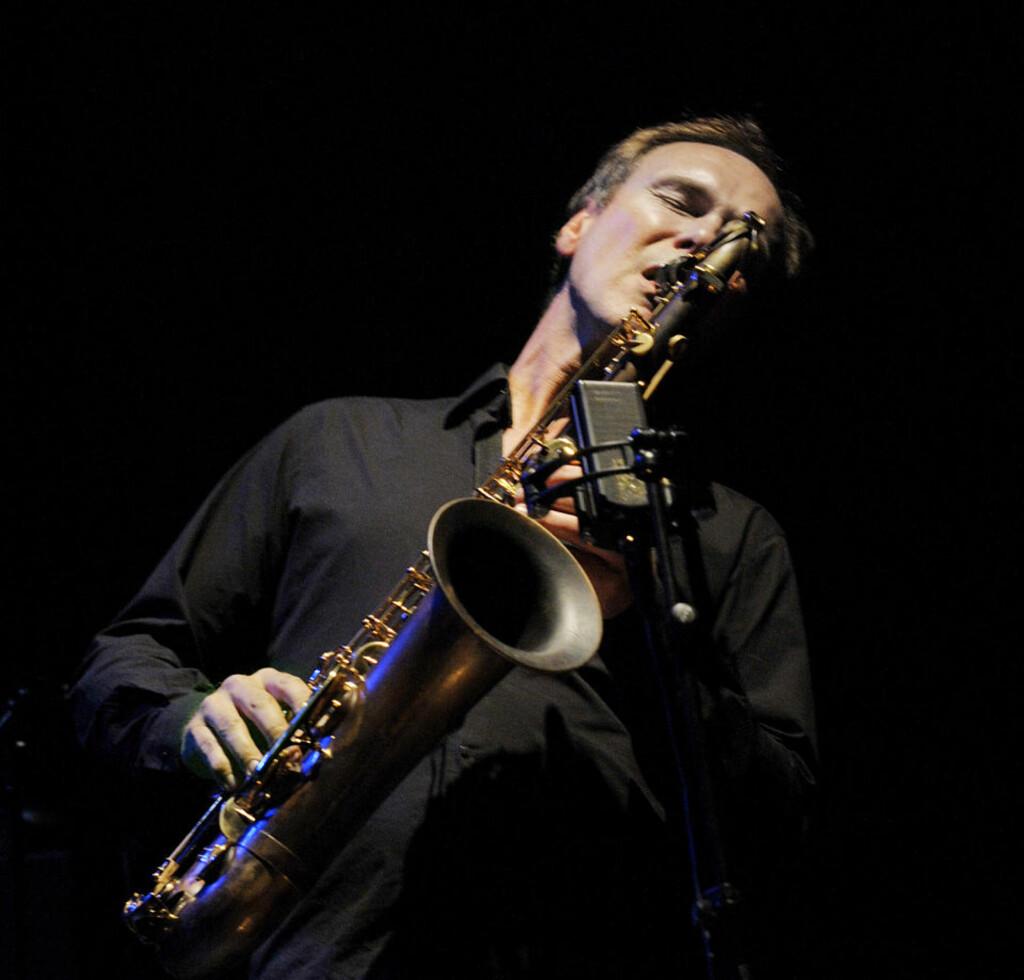 STERK: Bendik Hofseth er en sterk saksofonist, men mer ujevn som komponist.  Foto: John T. Pedersen/Dagbladet