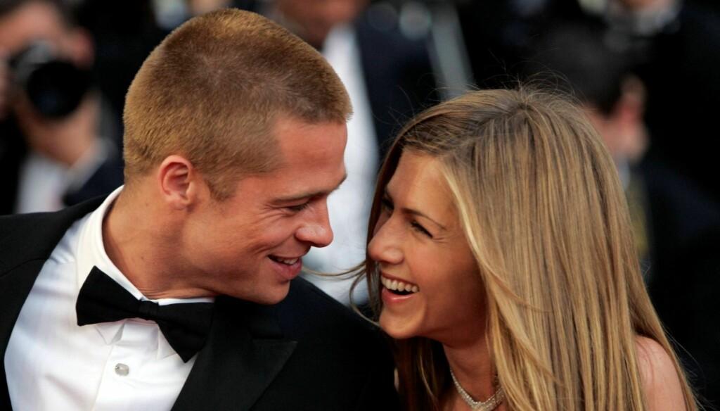IKKE LYKKELIG: - Jeg tror ekteskapet hadde noe å gjøre med det. Jeg prøvde å late som om ekteskapet var noe det ikke var, sier Brad Pitt om livet med Jennifer Aniston. Foto: All Over Press