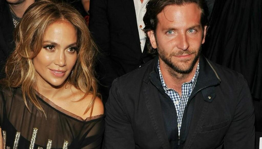ROMANTIKK I LUFTEN: Ryktene svirrer rundt Jennifer Lopez og Bradley Cooper etter at de to ble sett sammen i New York i helgen. Foto: All Over Press