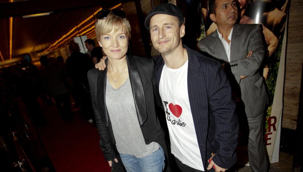 TAUS: Verken Daniel Franck eller Ulrikke Døvigen ønsker å snakke om forlovelsen. Foto: SCANPIX