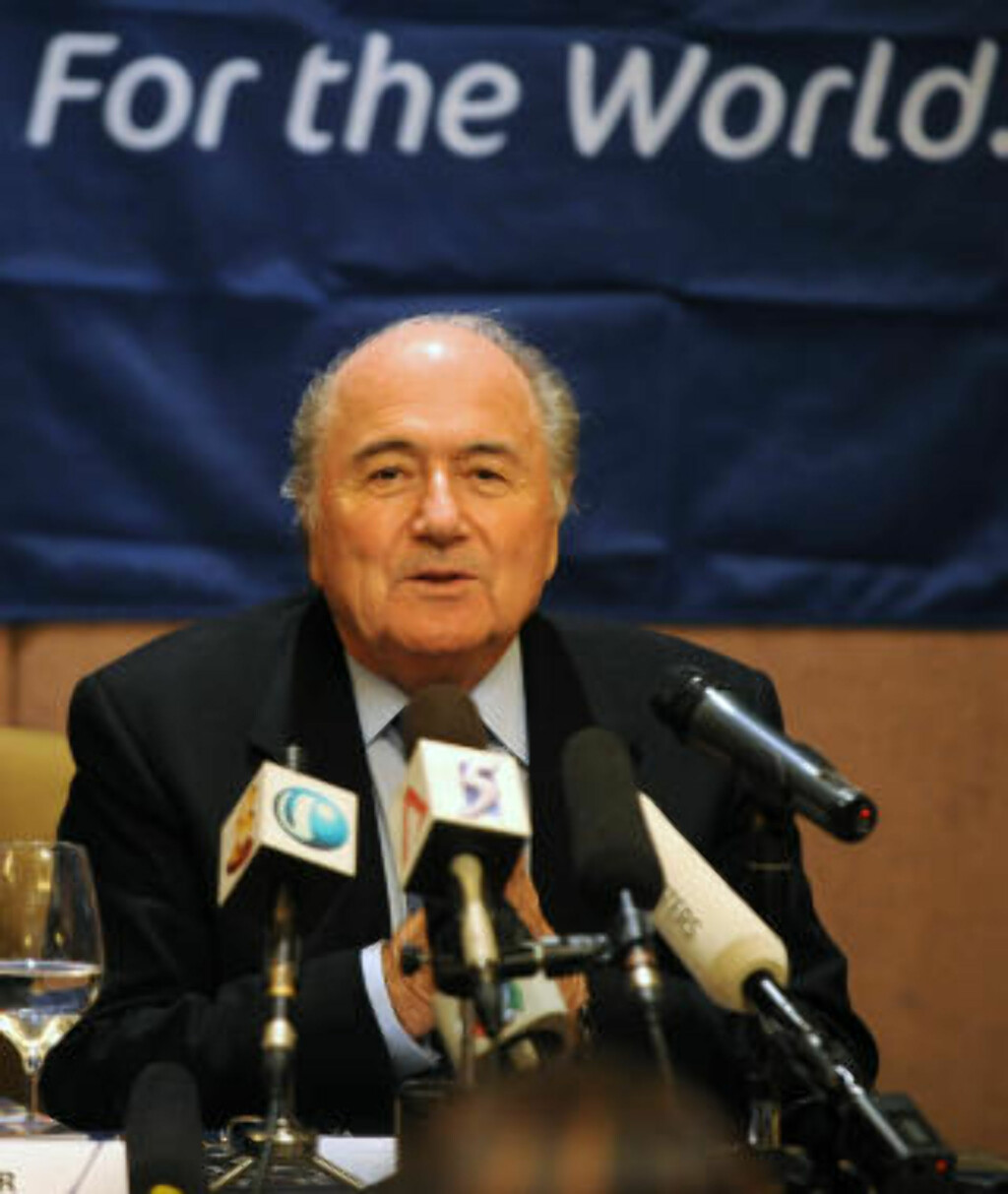 Did It Again Fifa President Sepp Blatter Has Declared War On The