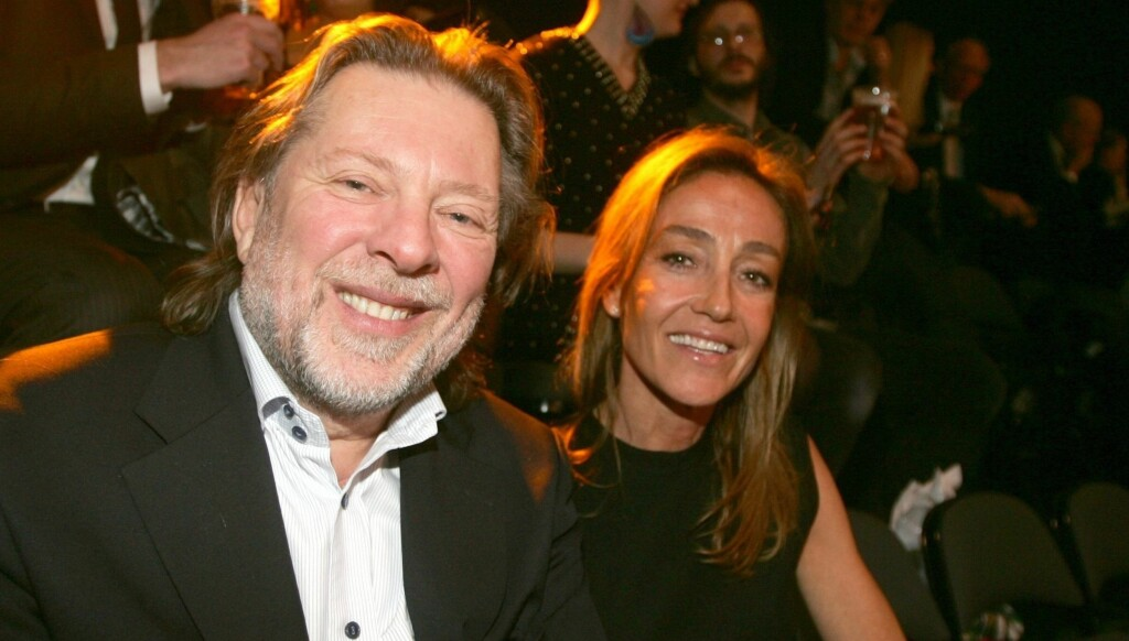 RUNDERE: Her er Odd Reitan og Camilla Astrup sammen på Spellemannsprisen 2009. Foto: Stella Pictures