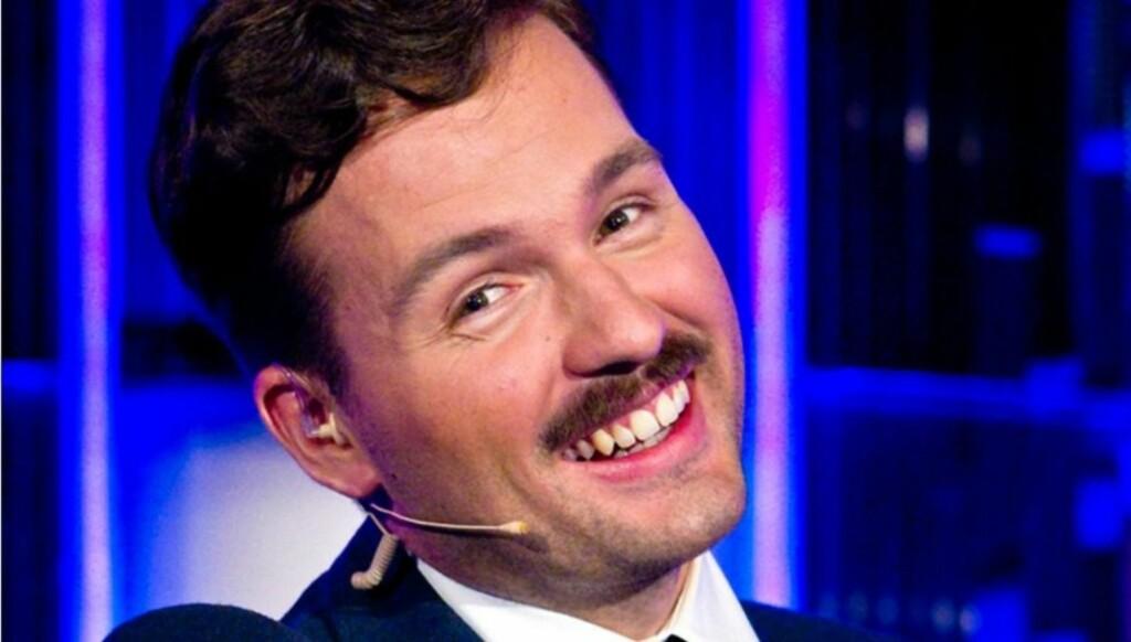 FULL AV ENERGI: Hasse Hope (25), kjent fra VGTV, leder den norske versjonen av «Take me home tonight» på TV3. Foto: TV3