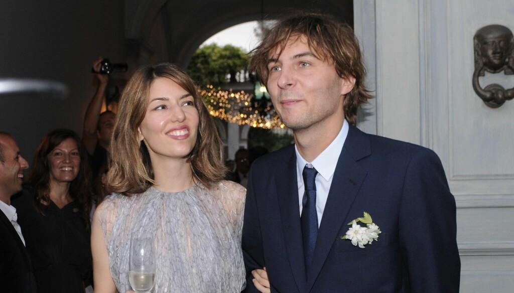 GIFT: Sofia Coppola og Thomas Mars giftet seg denne helgen. Sammen har de to døtre. Foto: Stella Pictures