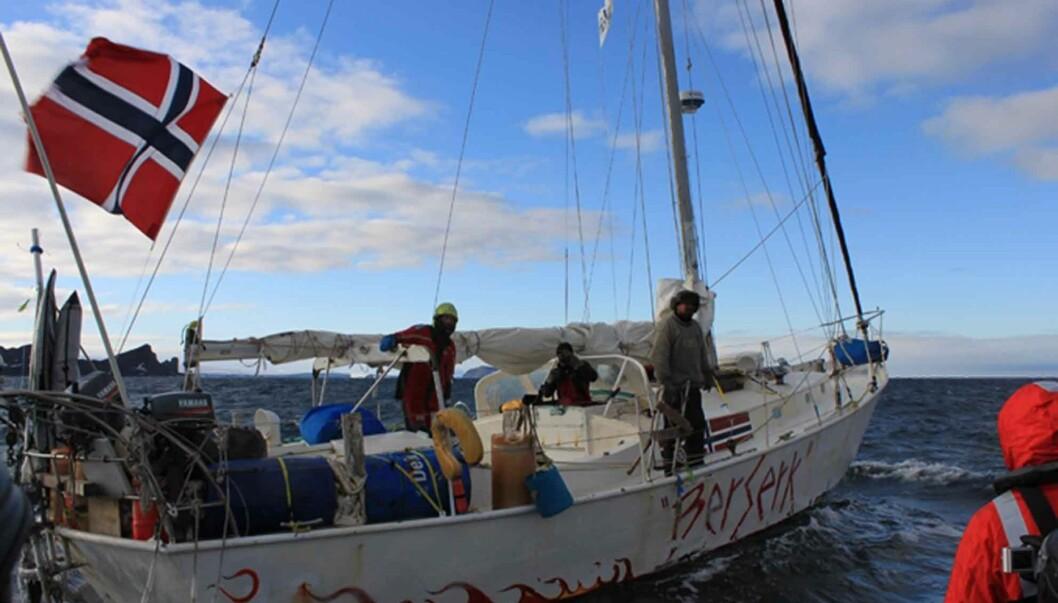 STORM OM TV-PLANER: Mødrene til to av de antatt omkomne etter «Berserk»-forliset i Antarktis 22. februar reagerer sterkt på skipperen Jarle Andhøys planer om å lage TV-serie av turen. Foto: Scanpix