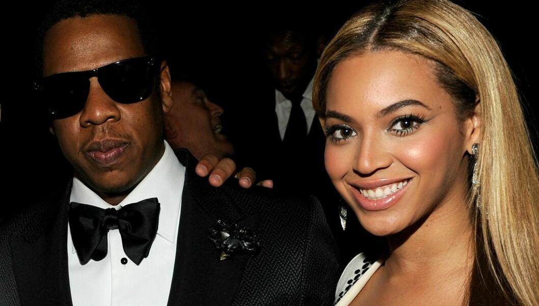 PARETS FØRSTE: Jay-Z og Beyonce venter sitt første barn sammen. Foto: All Over Press