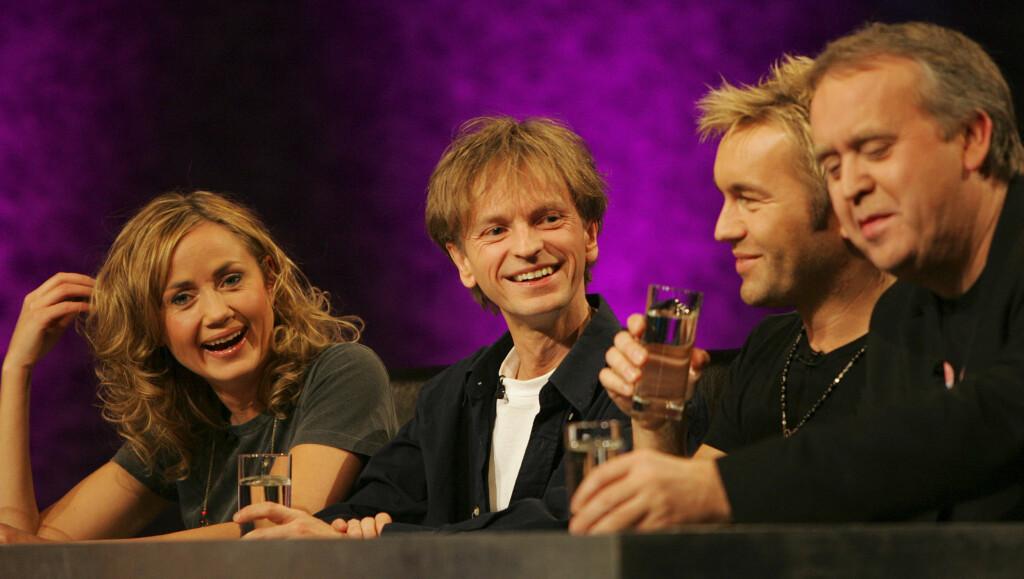 IDOL-DOMMERPANEL: I 2005 var Ole Evenrud dommer i Idol, sammen med Tone-Lise Skagefoss, David Eriksen og Tor Milde. Idol gjør comeback på TV 2 denne høsten. Foto: SCANPIX