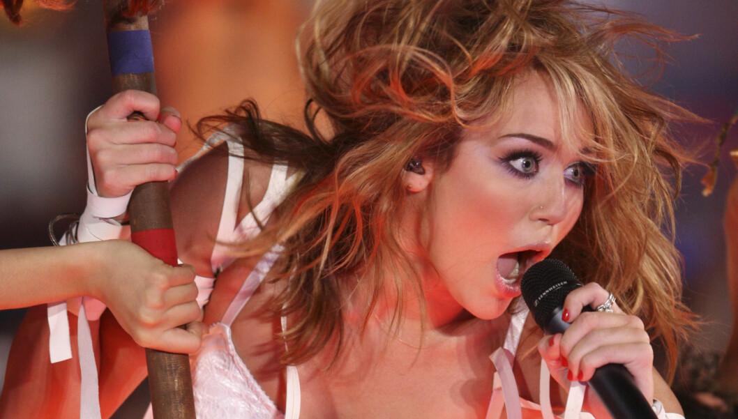 SNART TANTE: Miley Cyrus skal få en niese. Foto: Stella Pictures