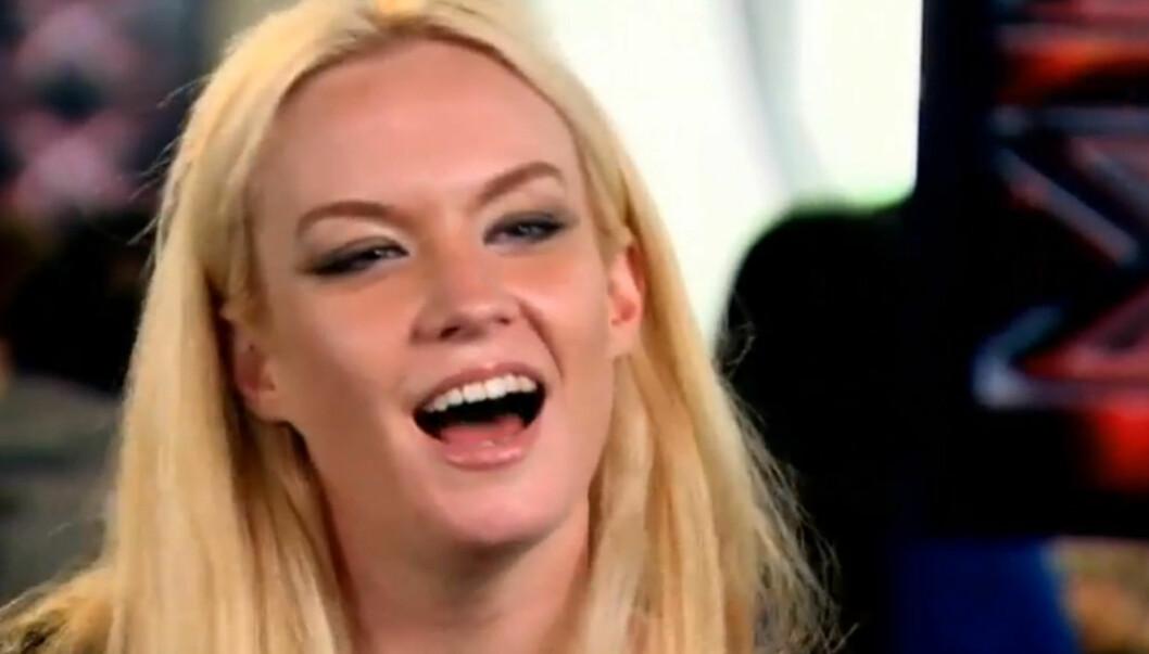 I HARDT VÆR: «X Factor»-deltakeren blir beskyldt for å ha lokket gifte menn til å kysse henne, etter at hun skal ha blitt leiet inn av ektefellene deres. Foto: ITV