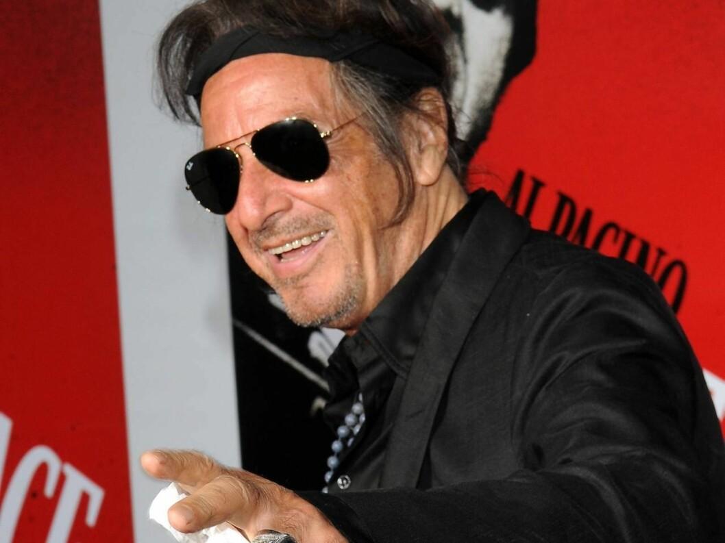 HOT: Al Pacino holder seg godt! Foto: All Over Press