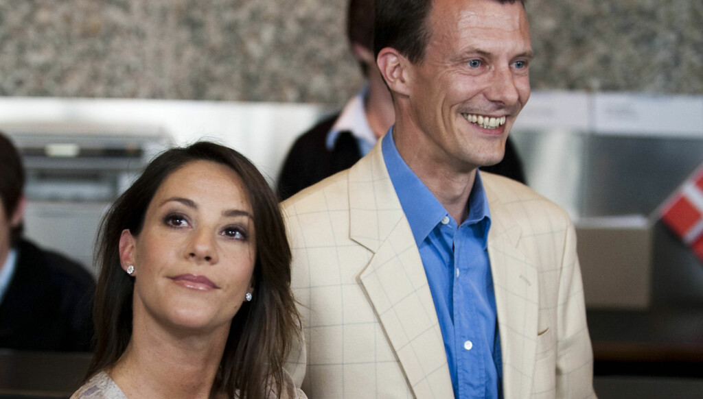 BABYJUBEL: Det danske prinseparet venter sitt andre barn sammen. Prins Joachim venter barn nummer fire. Foto: AP