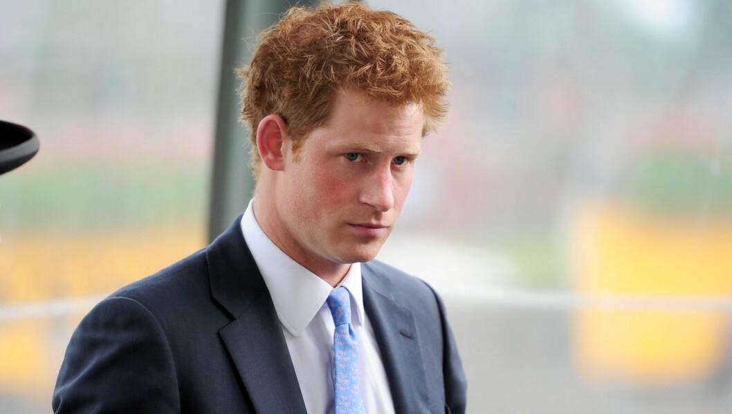 <strong>VILLE IKKE VÆRE BUNDET:</strong> Prins Harry har ikke tid til kjæreste mens han trener til å bli helikopterpilot. Foto: All Over Press