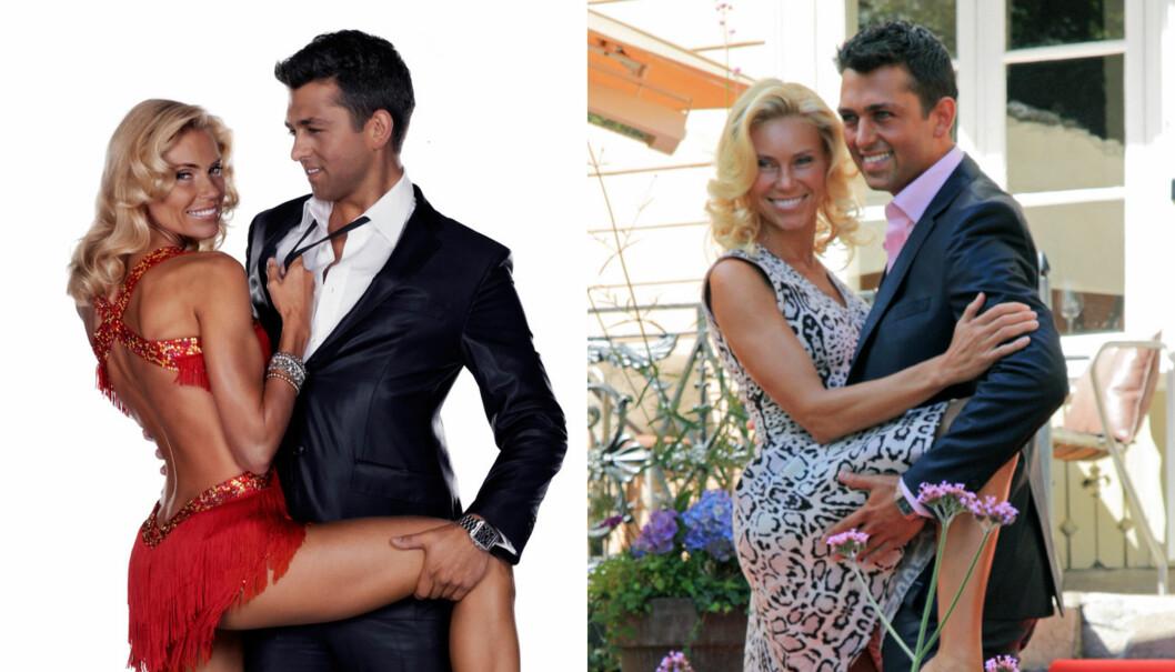 RETUSJERT FOR GLAMOUR: TV 2 erkjenner at bildene som er tatt av Anna Anka og av resten av årets - og tidligere års - «Skal vi danse»-kjendiser er forbedret kraftig etter at de ble tatt. Foto: Seher.no/TV 2