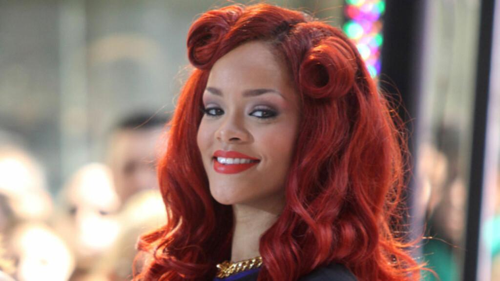BEGEISTRET: I flere meldinger på mikrobloggstedet Twitter skryter popstjernen Rihanna uhemmet av vakre Bergen by og jentene som bor der.  Foto: Stella  Pictures