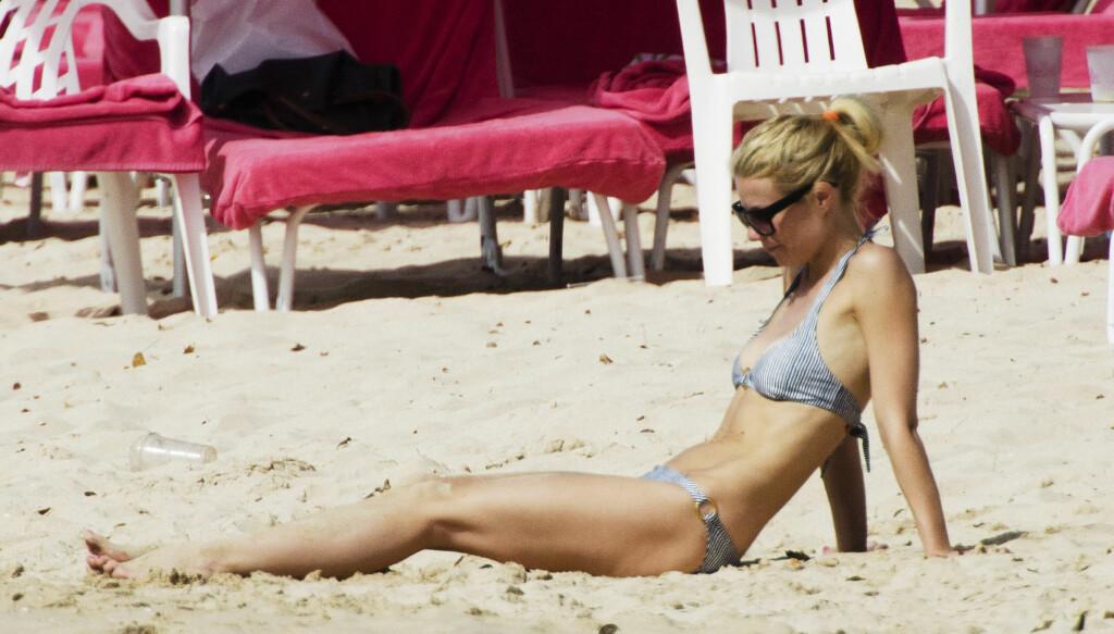 NATURLIG, MEN: Skuespiller Gwyneth Paltrow elsker pilates, meditasjon og detox-kurer, og hater botox og silikon. Men en ørliten brystkorreksjon ser hun imidlertid ikke bort fra når hun nå er ferdig med å amme. Foto: All Over Press