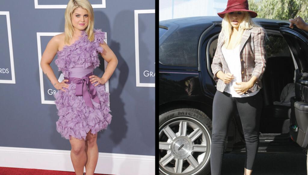 FYRER LØS: Kelly Osbourne lader kanonen og fyrer løs mot Christina Aguilera. Foto: Stella Pictures
