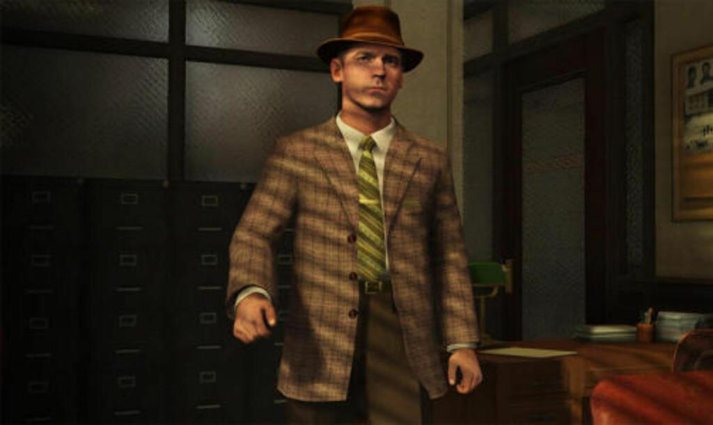 I «L.A. Noire» spiller du en detektiv på 40-tallet.