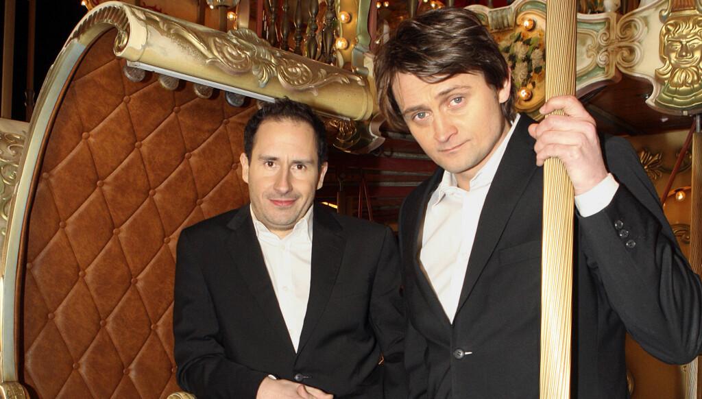VOKALIST: Det mange ikke vet, er at Numme synger i et Elvis-coverband som heter Vegas. Foto: TV 2