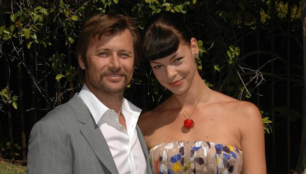 SKILLER SEG: Den tidligere «Melrose Place»-stjernen Grant Show giftet seg i 2004 med Pollyanna McIntosh, men nå er ekteskapet over. Foto: All Over Press
